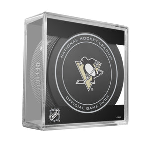 Pittsburg Penguins Official Game Puck (2012 to 2016)