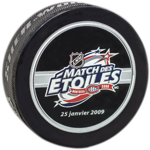 All-Star Montreal 2009 Puck (Product in French Only)
