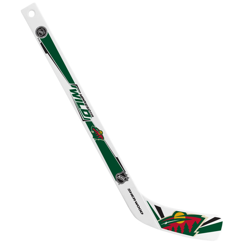 NHL Minnesota Wild Mini Player Plastic Stick
