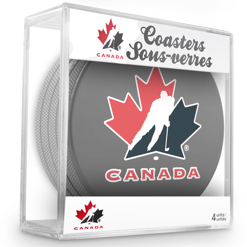 Official Team Canada Coaster Cube