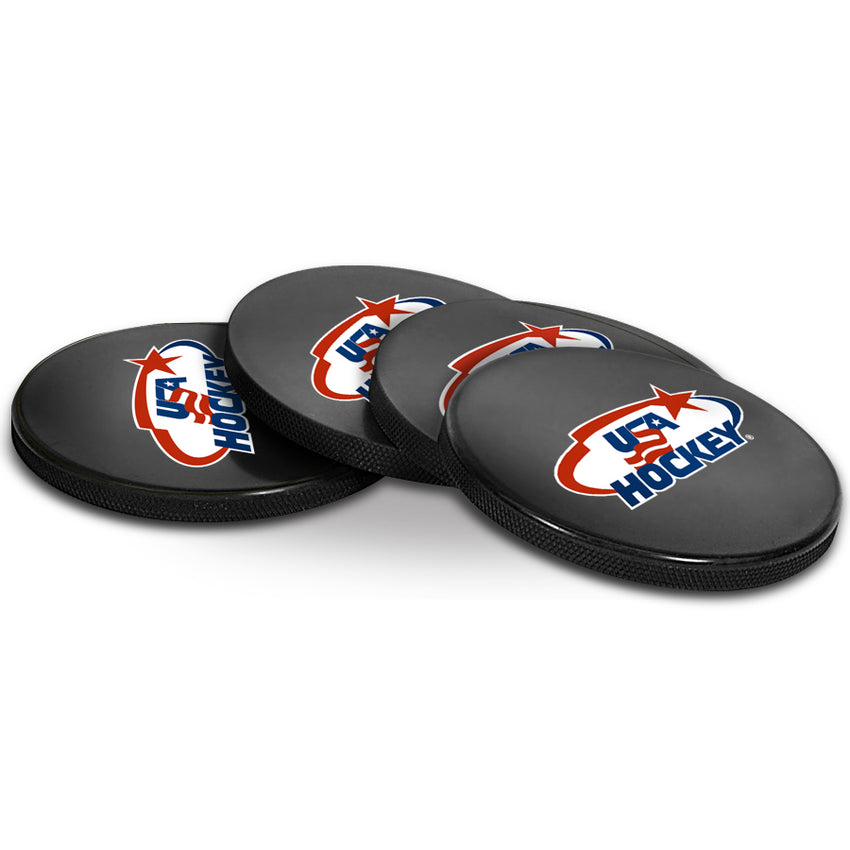 Official USA Hockey Coaster Cube