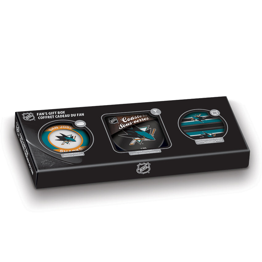 NHL San Jose Sharks Fan's Gift Box