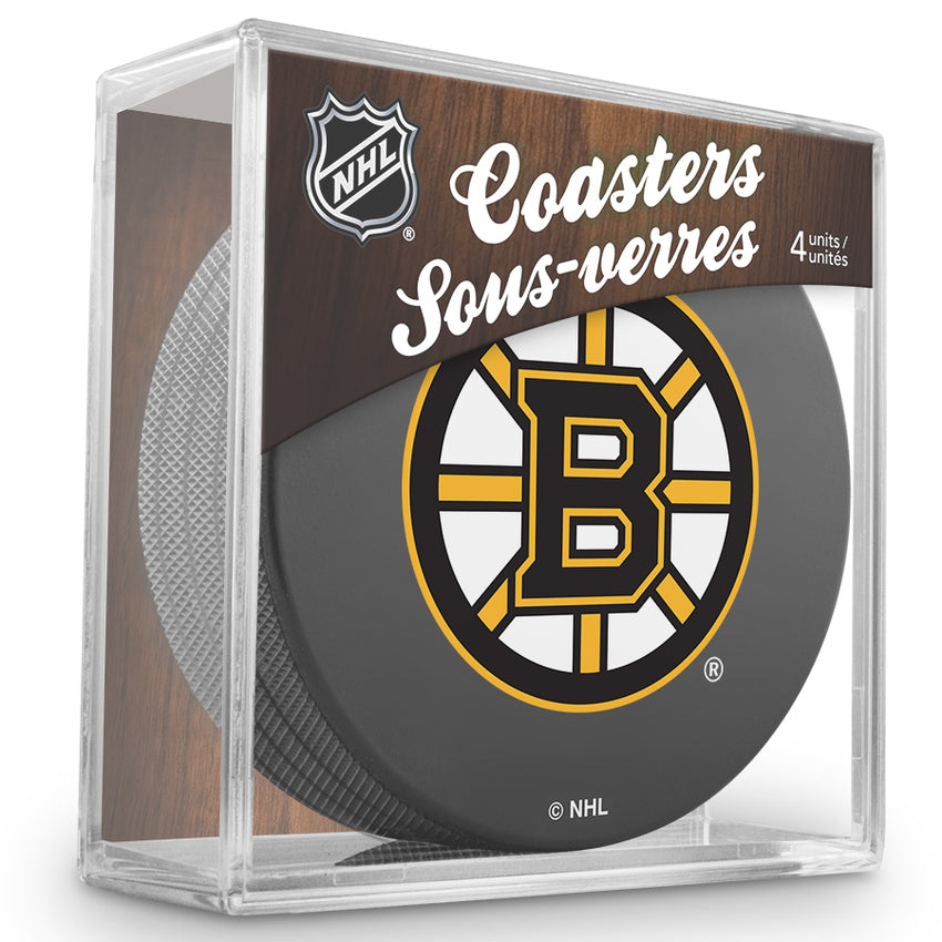 Official NHL Boston Bruins Coaster Cube