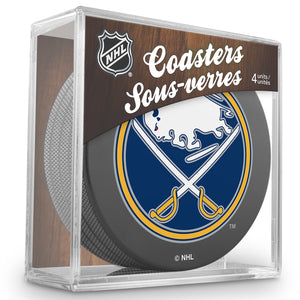 Official NHL Buffalo Sabres Coaster Cube