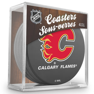 Official NHL Calgary Flames Coaster Cube