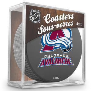 Official NHL Colorado Avalanche Coaster Cube