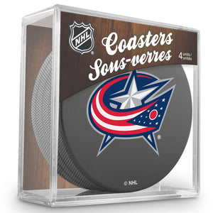 Official NHL Columbus Blue Jackets Coaster Cube