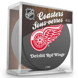 Official NHL Detroit Red Wings Coaster Cube
