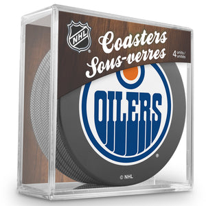 Official NHL Edmonton Oilers Coaster Cube