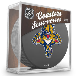 Official NHL Florida Panthers Coaster Cube