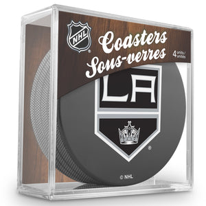 Official NHL Los Angeles Kings Coaster Cube