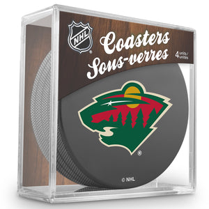 Official NHL Minnesota Wild Coaster Cube