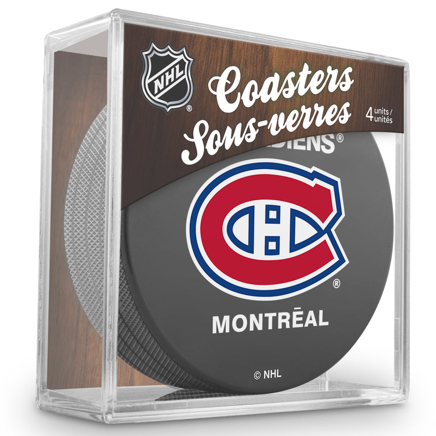 Official NHL Montreal Canadiens Coaster Cube