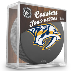 Official NHL Nashville Predators Coaster Cube