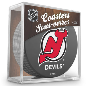 Official NHL New Jersey Devils Coaster Cube