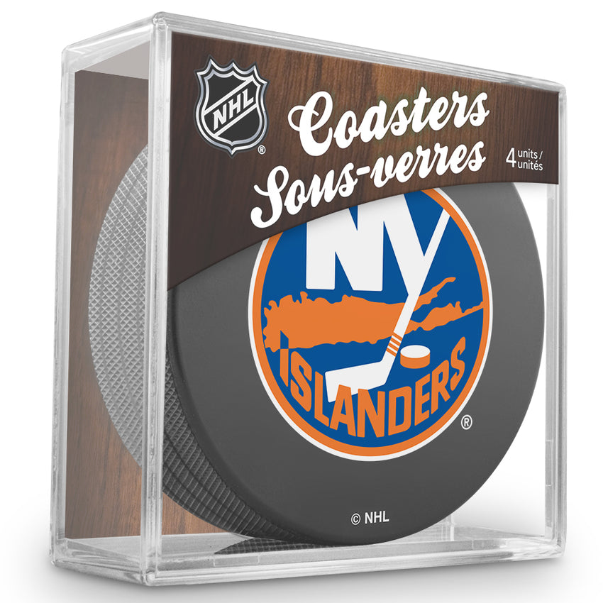 Official NHL New York Islanders Coaster Cube