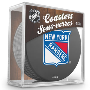 Official NHL New York Rangers Coaster Cube