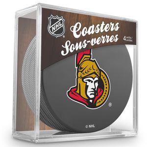 Official NHL Ottawa Senators Coaster Cube
