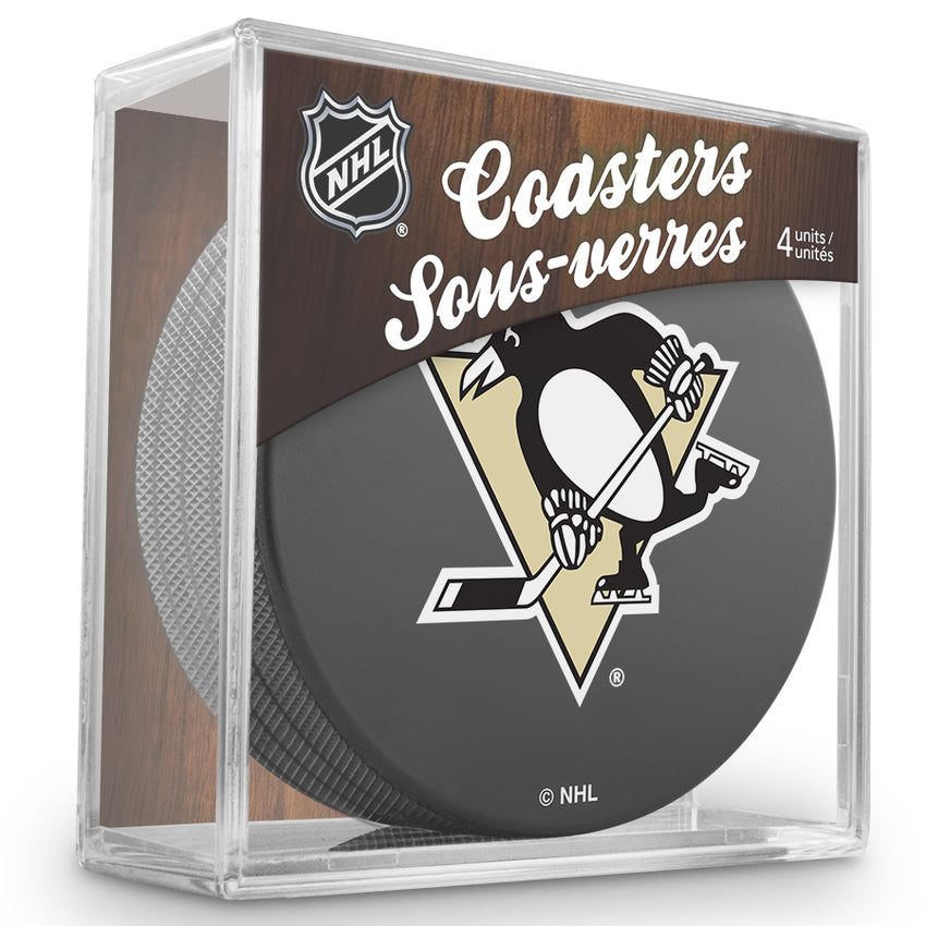 Official NHL Pittsburgh Penguins Coaster Cube