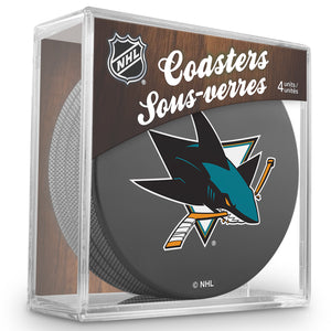 Official NHL San Jose Sharks Coaster Cube