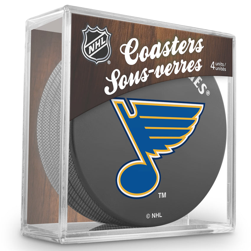Official NHL St. Louis Blues Coaster Cube