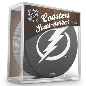 Official NHL Tampa Bay Lightning Coaster Cube