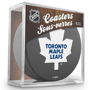 Official NHL Toronto Maple Leafs Coaster Cube