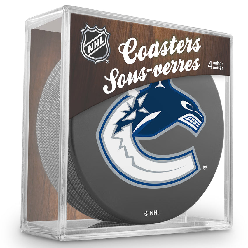 Official NHL Vancouver Canucks Coaster Cube
