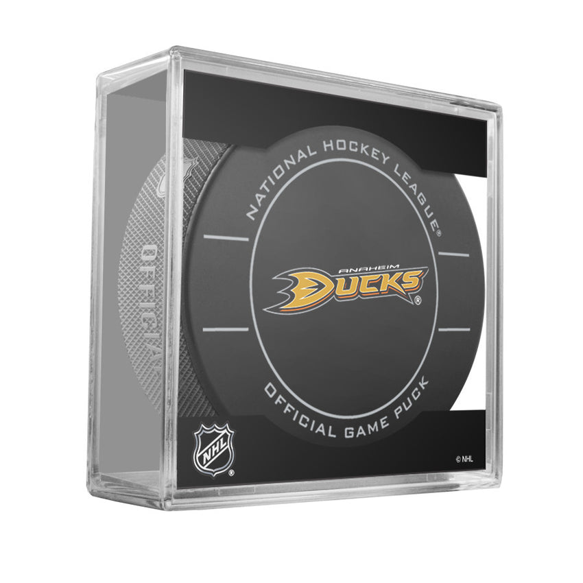 Anaheim Ducks Official Game Puck (2009 to 2011)