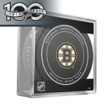 Boston Bruins Official NHL Centennial Game Puck - 2017