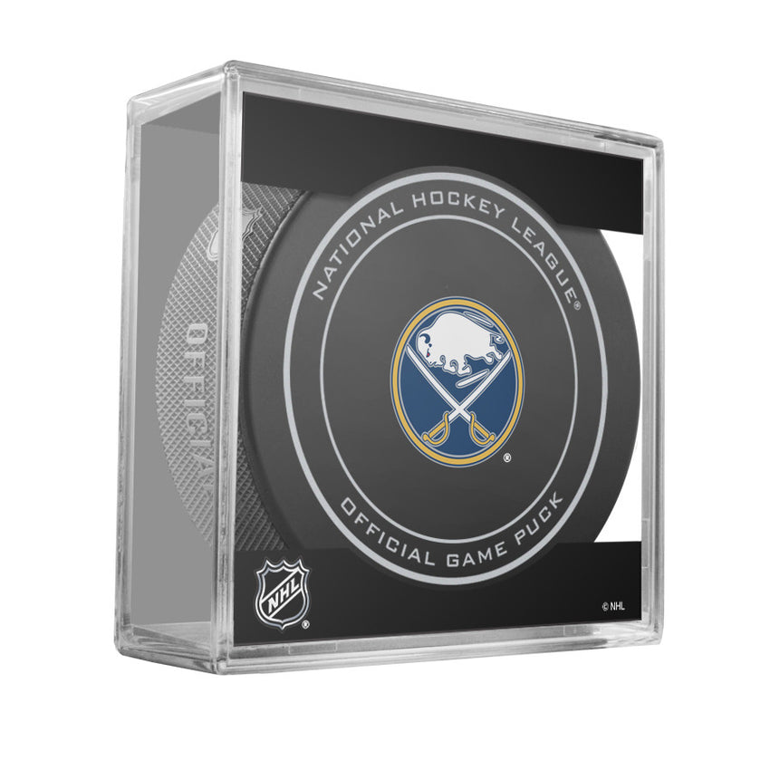 Buffalo Sabres Official Game Puck (2012 to 2016)