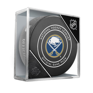 Buffalo Sabres 2018 Official NHL Game Puck