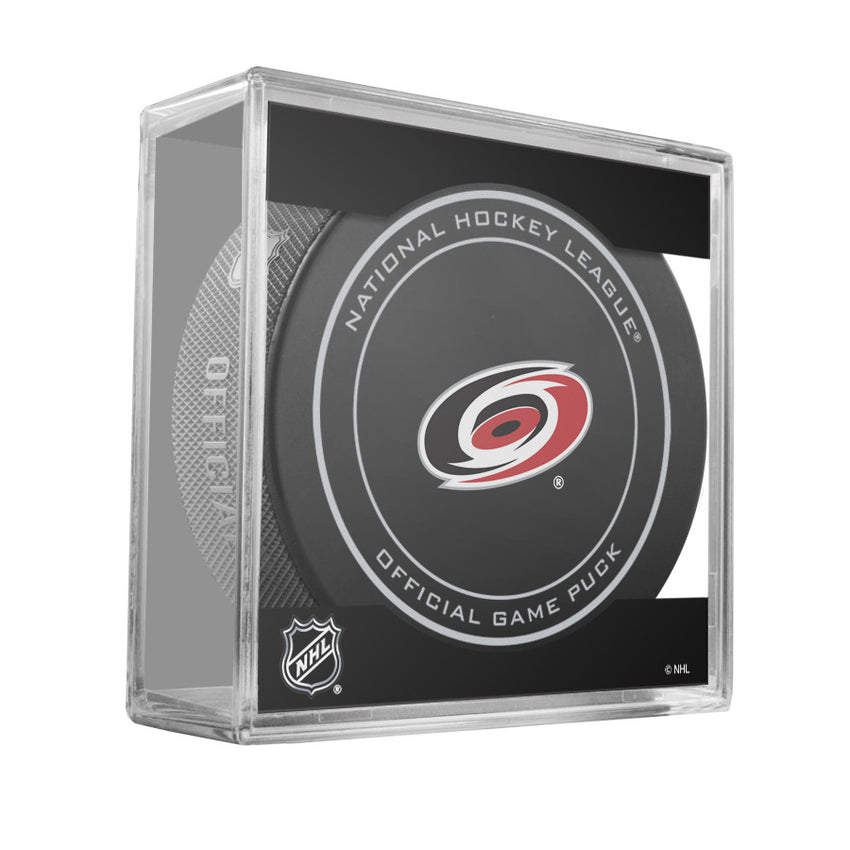 Carolina Hurricanes Official Game Puck (2012 TO 2016)