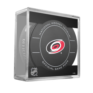 Carolina Hurricanes Official Game Puck (2009 TO 2011)