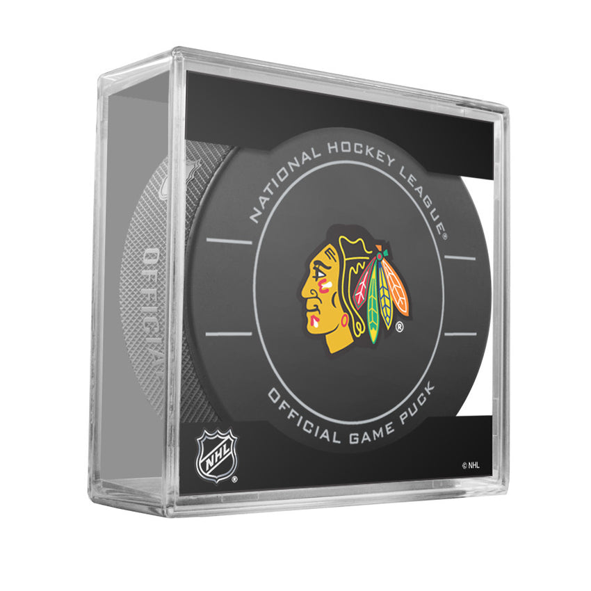 Chicago Blackhawks Official Game Puck (2009 TO 2011)