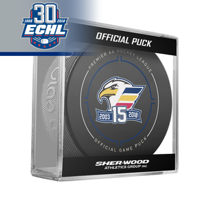 Colorado Eagles Official Puck ECHL 30th Anniversary