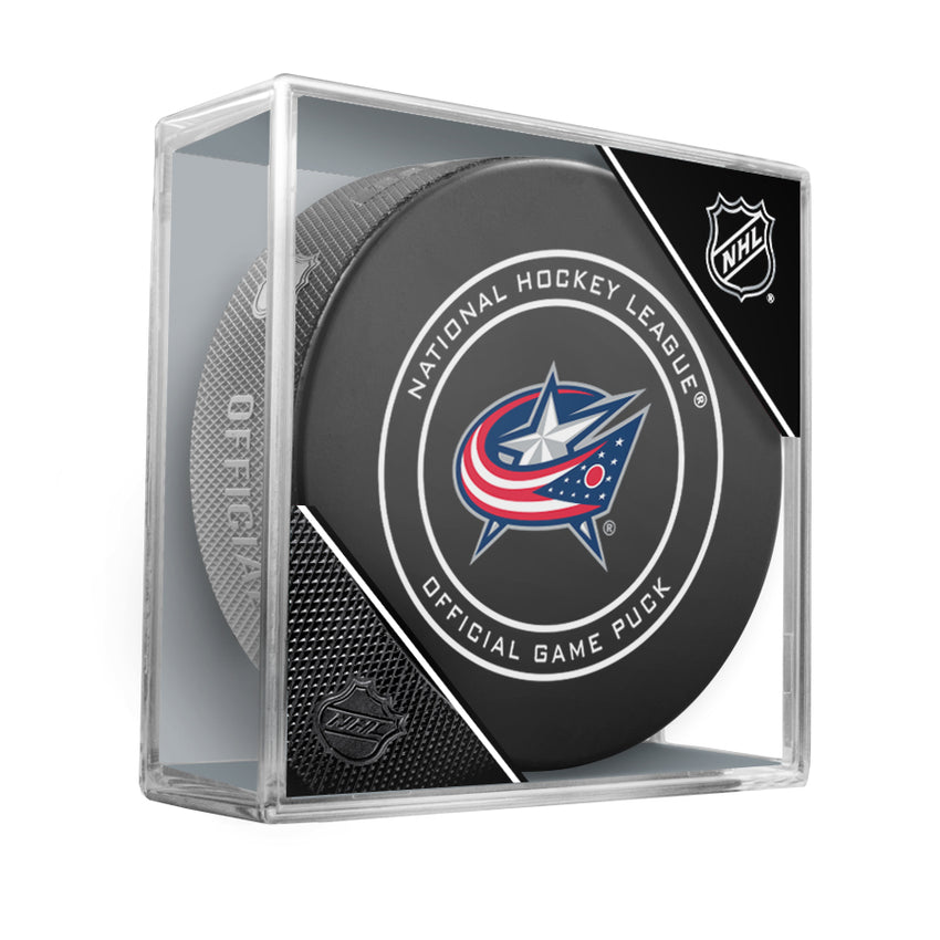 Columbus Blue Jackets 2018 Official NHL Game Puck