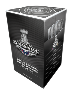 2018 Stanley Cup Champions Bundle (5 Official Game Puck)