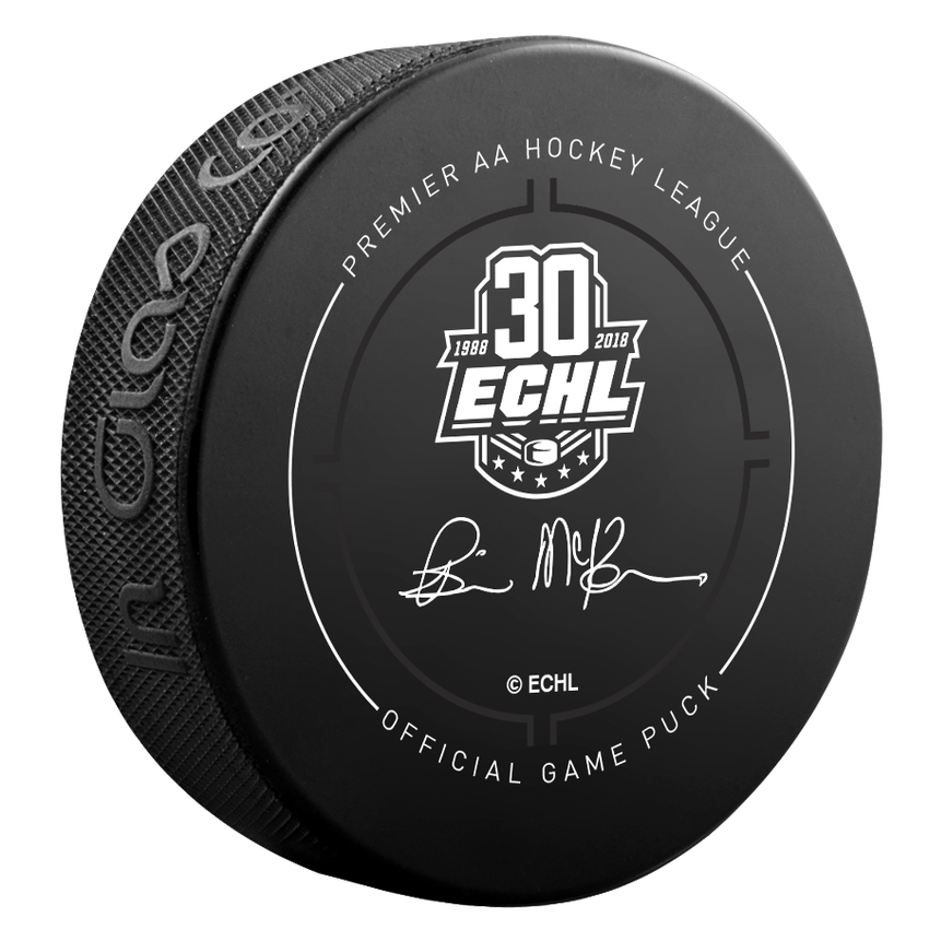 Wheeling Nailers Official Puck ECHL 30th Anniversary