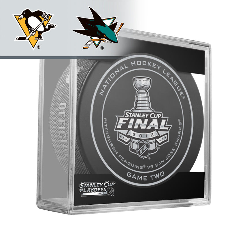 2016 Stanley Cup Final - Game 2 Official Game Puck