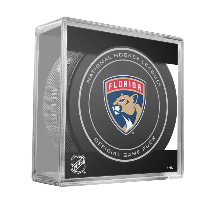 Florida Panthers Official Game Puck (2012 to 2016)