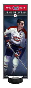 NHL Alumni Jean Béliveau Deco Plaque With Puck Holder