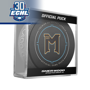 Kansas City Mavericks Official Puck ECHL 30th Anniversary