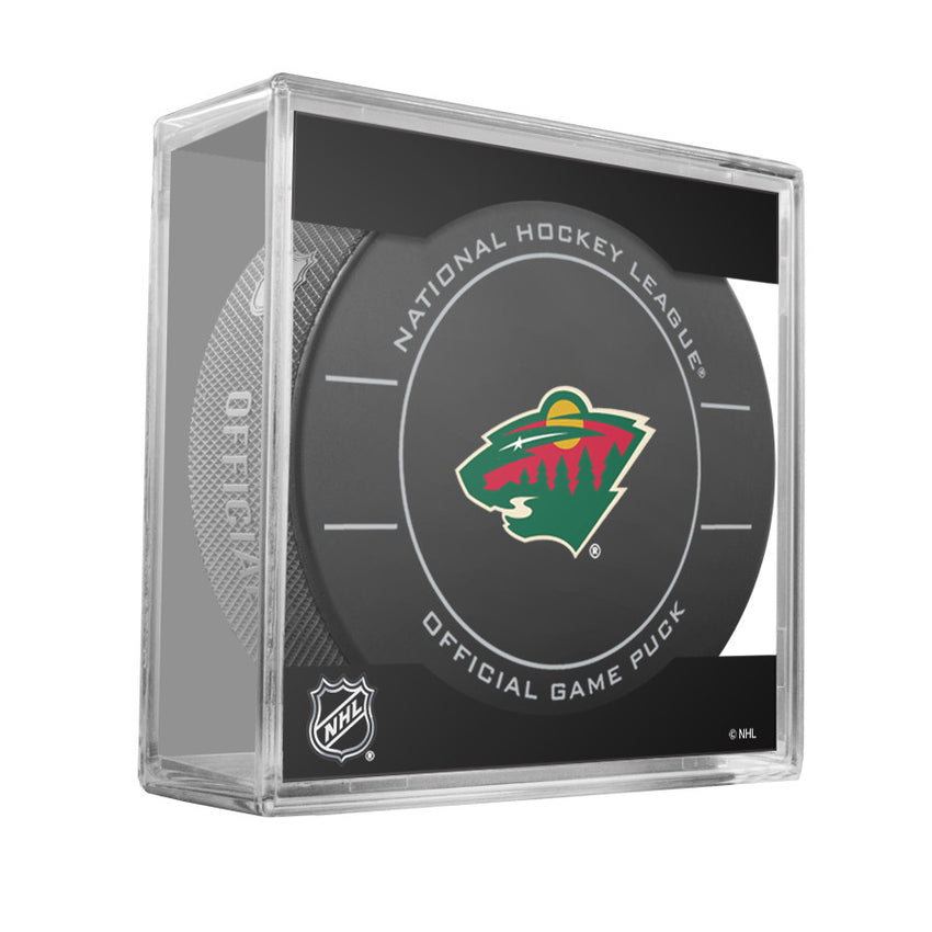Minnesota Wild Official Game Puck (2009 to 2011)