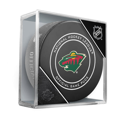 Minnesota Wild 2018 Official NHL Game Puck