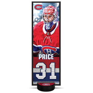 Carey Price #31 NHLPA Decorative Plaque With Puck Holder