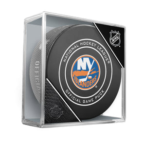 New York Islanders 2018 Official NHL Game Puck