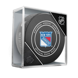 New York Rangers 2018 Official NHL Game Puck