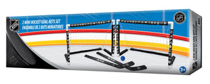 NHL Mini Hockey Goal Set Double (31 NHL Team Logos)