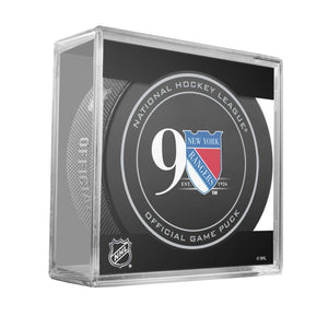 New York Rangers Official Game Puck (2012 to 2016)